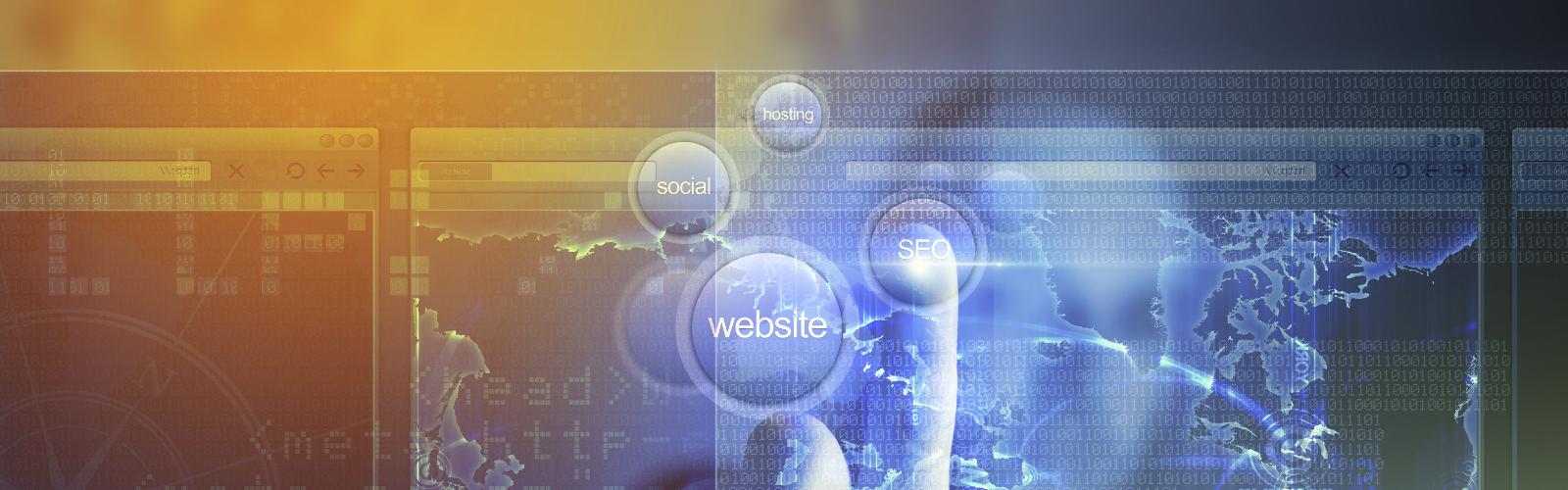 Virtuelle Webseitenaufbau